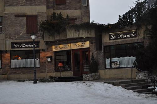 Restaurante Ticolet en Baqueira