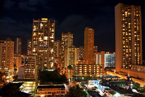 Oahu night