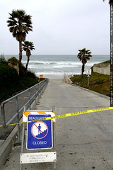 beach closed. go back to oregon.