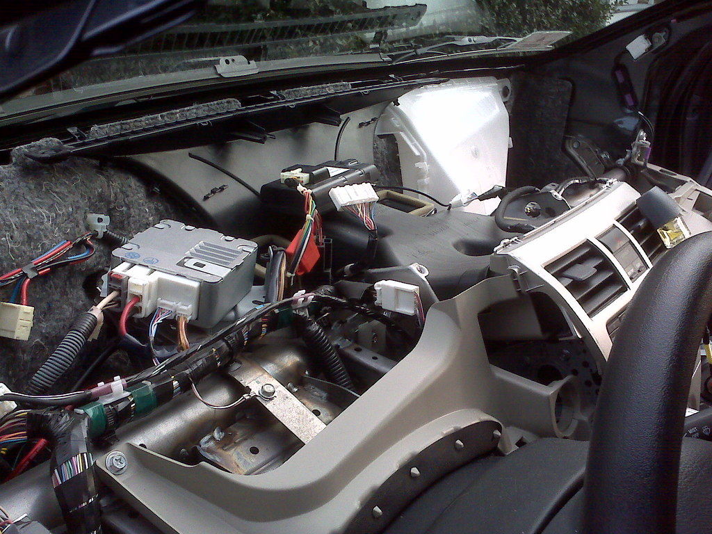 2008 Toyota Yaris Sedan Fuse Box