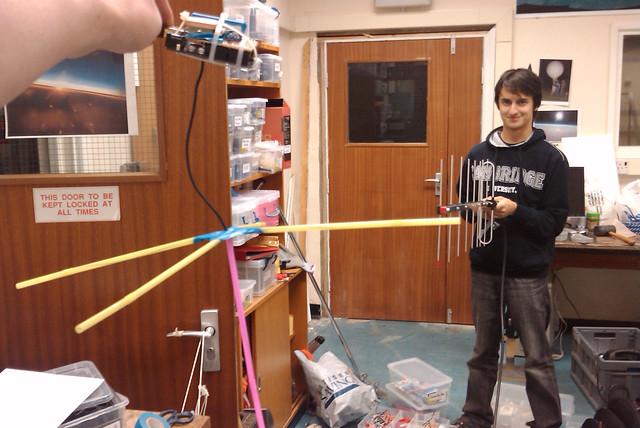 Ferret 1 testing radio