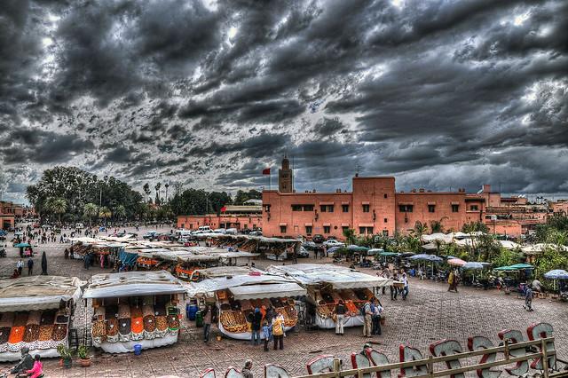 Djemaa el Fna in Marrakech [FRONT PAGE]