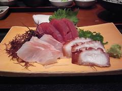 meal, sashimi, samgyeopsal, meat, food, dish, cuisine,