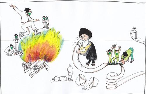 Iran Fire Festival چهارشنبه سوری