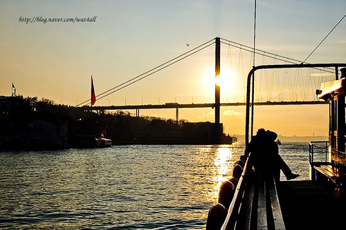 Sunset on the Bridge, İstanbul