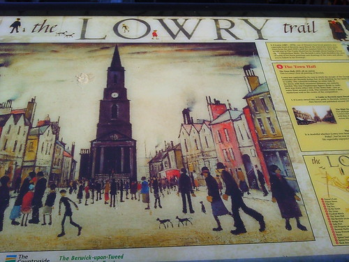 The Town Hall on the Lowry Trail, Berwick upon Tweed