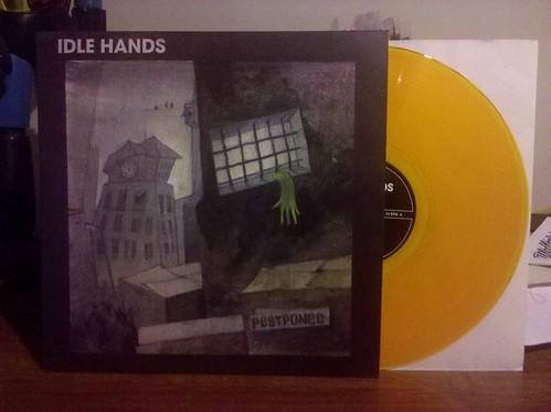 Idle Hands - Postponed LP - Orange Vinyl by factportugal