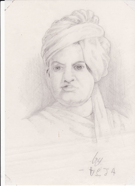Swami Vivekananda | an old drawing done by me,stumbled ...