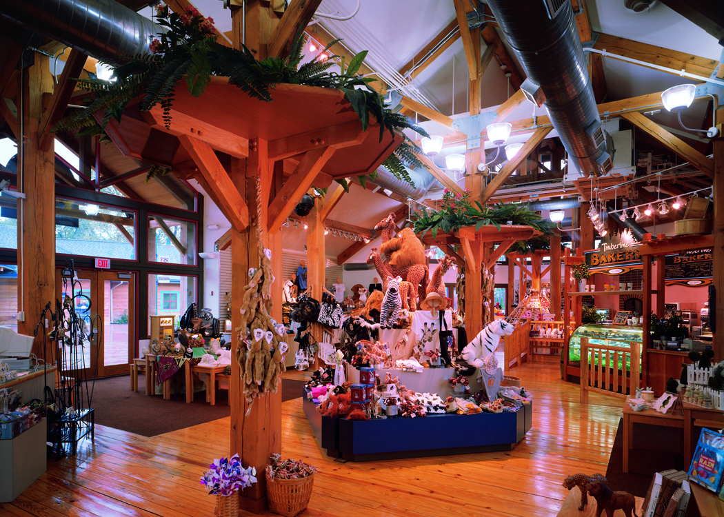 Toledo Zoo Timber Frame Building Gift Shop 2 A Photo