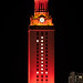 UT Tower In Orange
