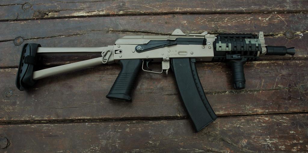 Boyi Dboys Aks74u Airsoft Rifle Boyi Dboys Aks74u