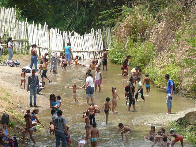 Rio En La Finca Betania , Estado Miranda,Venezuela
