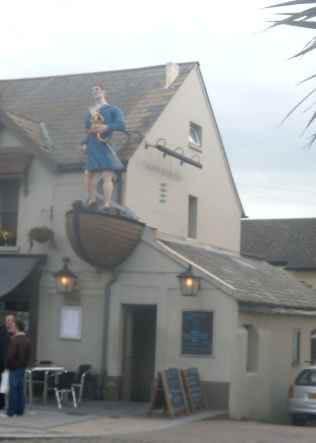 Oversize pub sign - Shoreham by sea