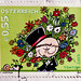 great stamp Austria 55c TOMTOM Cartoon by T. Kostron (Valentine's Day, congratulations, Happy Birthday, Flowers, TomTom, snail with sunglasses) Österreich Autriche stamps timbres selos bollos special issue stamp, commemorative issue, émission commémorativ
