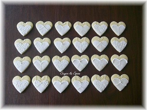 bridal gown hearts II