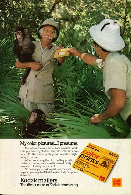 Kodak mailers - 1975