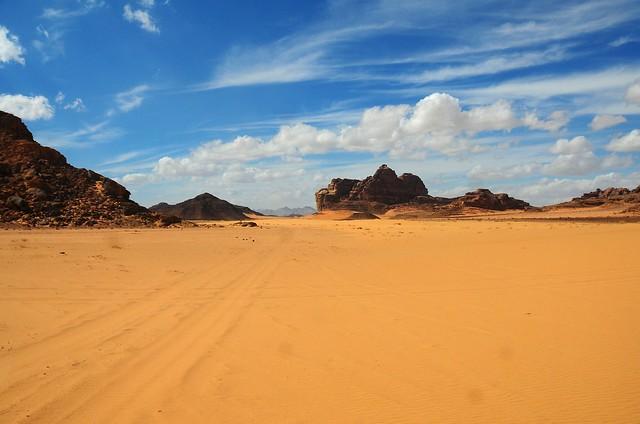 Wadi Rum: Into the Desert