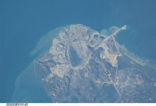 Panian Mine, Semirara Island, Philippines (NASA, Internati ...
