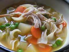 chicken noodle soup recipe by Caribbean Pot
