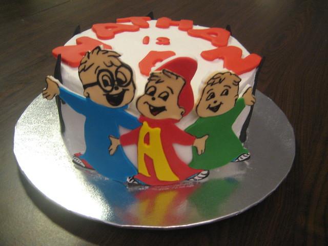 Alvin And The Chipmunks Birthday Cake: Alvin And The Chipmunks Cake