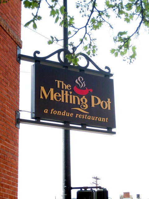 "an analysis of the definition of melting pot The melting pot that never  english-speaking definition of ""american"" is so ingrained in my mind that i implicitly recognize a dichotomy between that which."