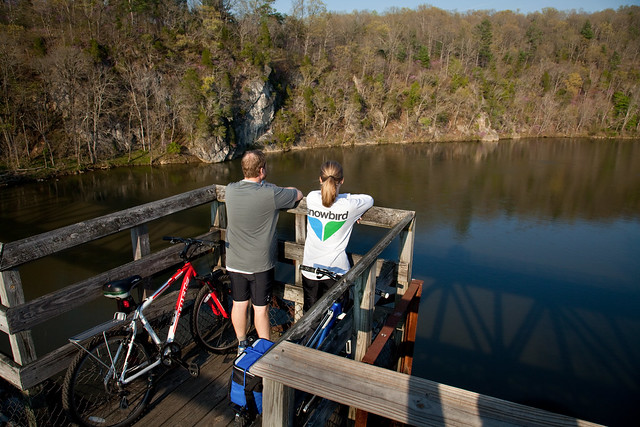 Many of our 500 miles of trails are multi-use for hiking, biking and horseback riding like those at New River Trail State Park