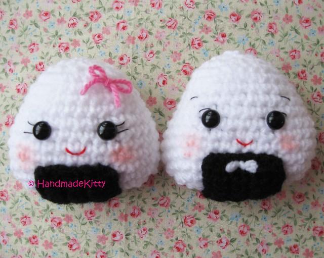 Onigiri Couple Amigurumi Free Crochet Pattern : 4544205900_037d42b668_z.jpg