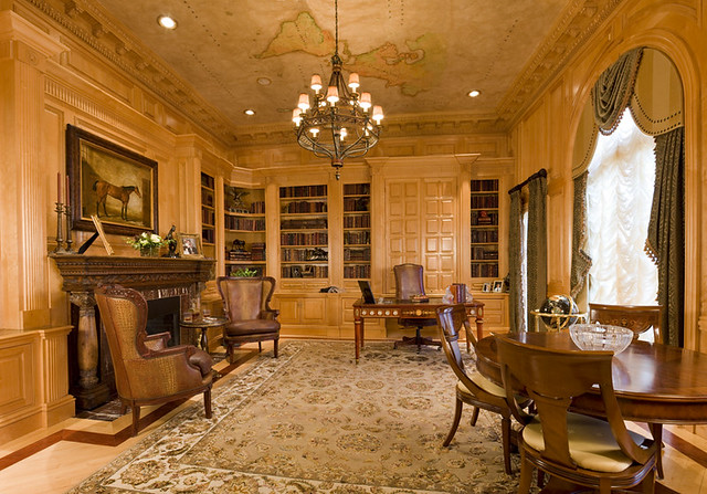 Luxury Home Library Luxury Home Office Flickr Photo Sharing