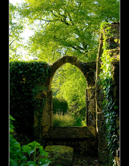 Doorway to the secret garden.