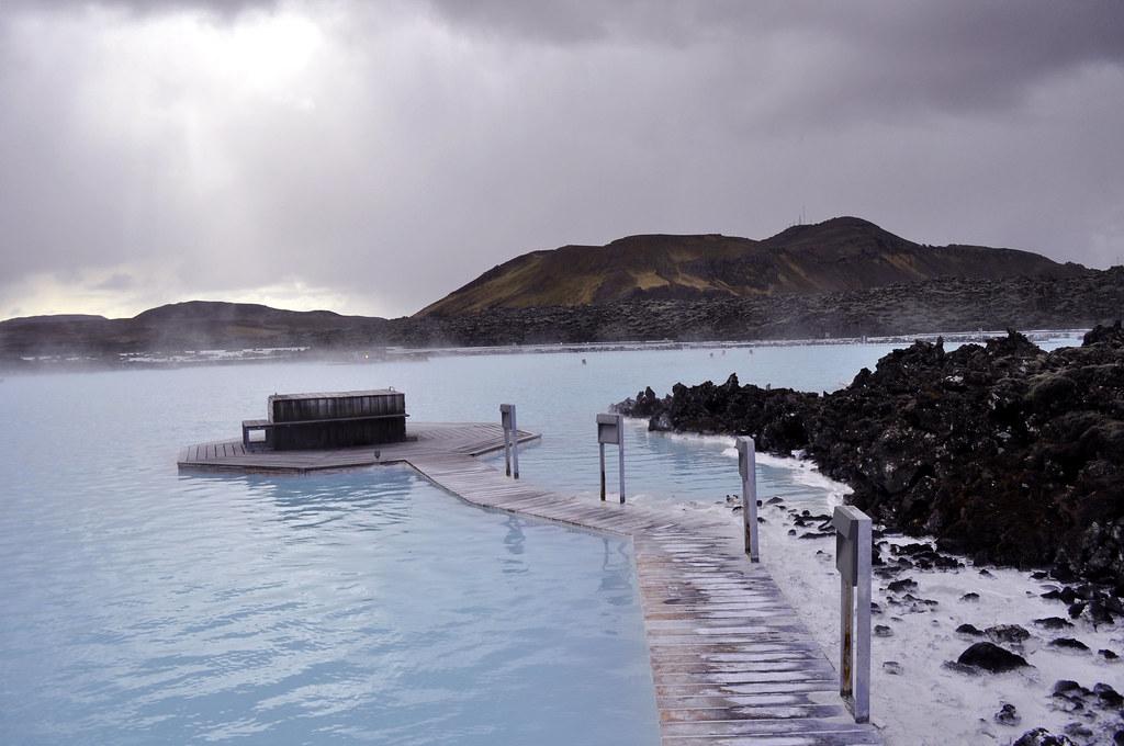 фото Голубая Лагуна исландия