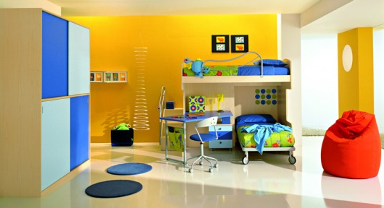 yellow color design bedroom interior decorate how to tips boys