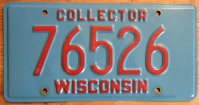 license plate collector shows