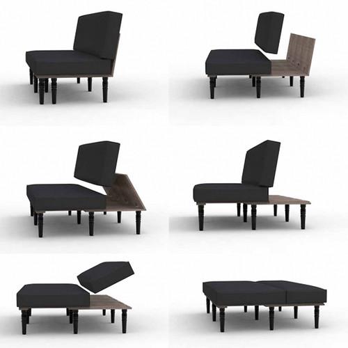 Aero sofa bed aero sofa - Canape poltron et sofa ...