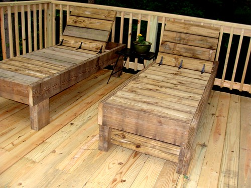 Home ideas building plans for wooden outdoor chaise lounges for Build outdoor chaise lounge