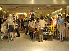 Shopping Osaka Japan