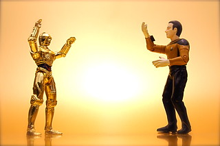 C-3PO vs. Data (137/365) | by JD Hancock