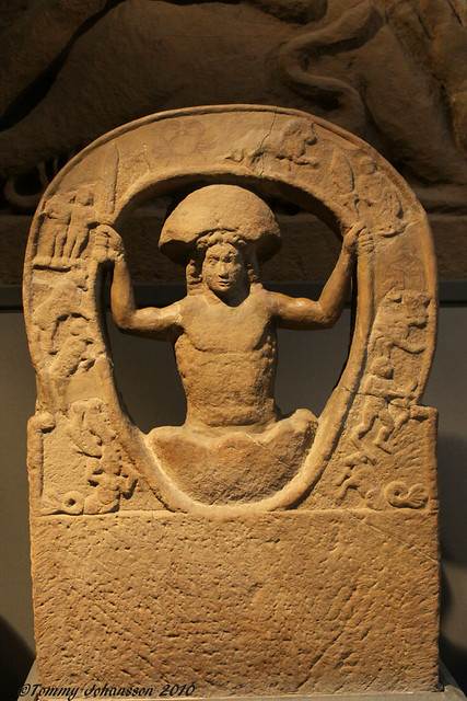 Mithras emerging from the Cosmic Egg