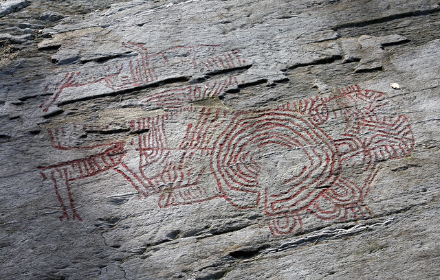 Stone age rock carvings flickr photo sharing