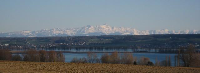 Alpenpanorama überm Bodensee