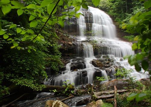 longexposure trees waterfall nc rocks whitewater northcarolina saluda naturephotography polkcounty ndfilter pearsonsfalls davidhopkinsphotography ncpedia
