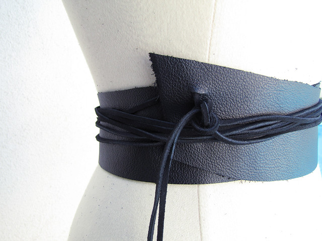 leather wrap belt edges diy 10 flickr photo