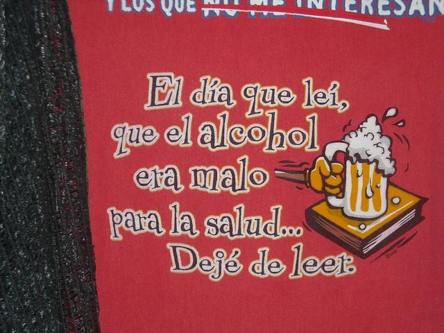 La codificación del alcohol el cobertizo