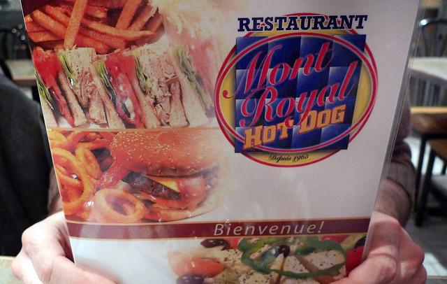 Mont Royal Hot Dog