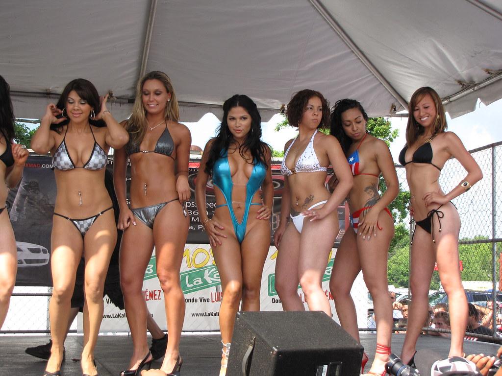 sets appears in bikini contest   englishtown summer slam 2009