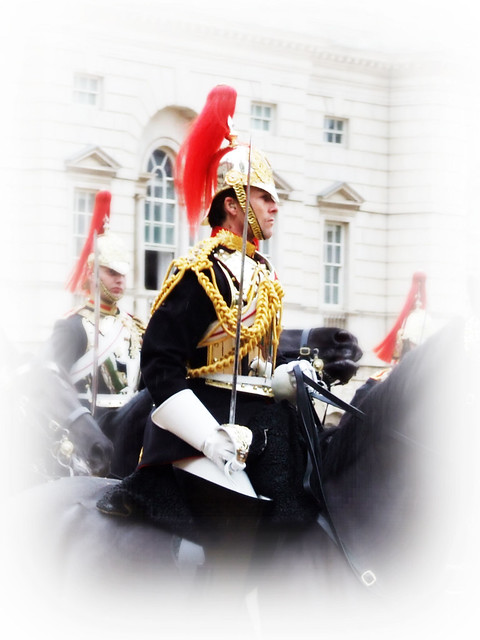 Blues and Royals Officer