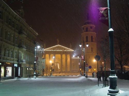 Gediminas Street/Cathedral