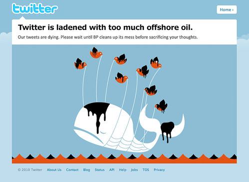 The Oil Spill's Affect on Twitter