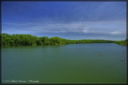 lake pond hdr caesarcreek