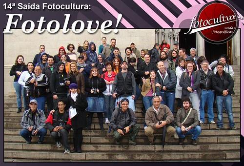 Galera presente na 14ª Saída Fotocultura