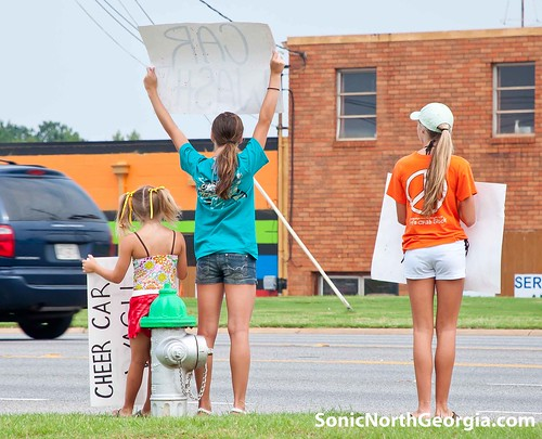 Force Cheerleader Carwash 6-12-10-4205